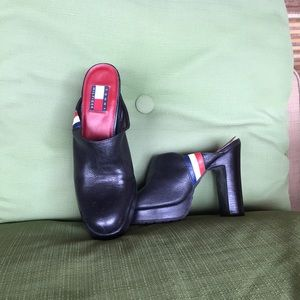 Tommy Hilfiger slip on heels